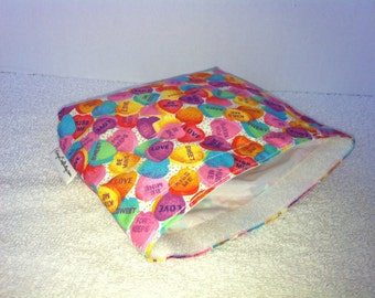 Eco Bag-Medium-Conversation Hearts (Eco 55-M)
