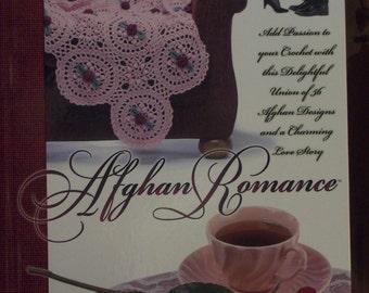 Afghan Romance,Crochet,Patterns,Hardback,Book,Supplies,Needlecraft Shop