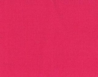 Moda Bella Solids quilt or craft fabric by Fabric Shoppe- Premium Solid quilting cotton Bella Solid in Shocking PInk- You Choose The Cut