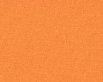 Moda Bella Solids quilt or craft fabric by Fabric Shoppe- Premium Solid quilting cotton Bella Solid in Amelia Orange