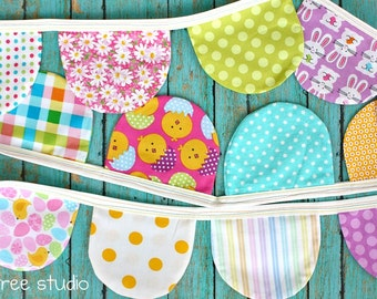 Hang Some EASTER Happiness -- Colorful and Whimsical SPRING Bunting