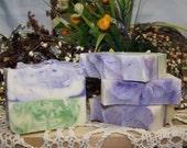 Lavender and Lemongrass - Handmade Cold Process Soap
