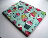 Cute as Cupcakes -  Laptop cover Padded and Zipper Closure for MacBook Air 11 Inch