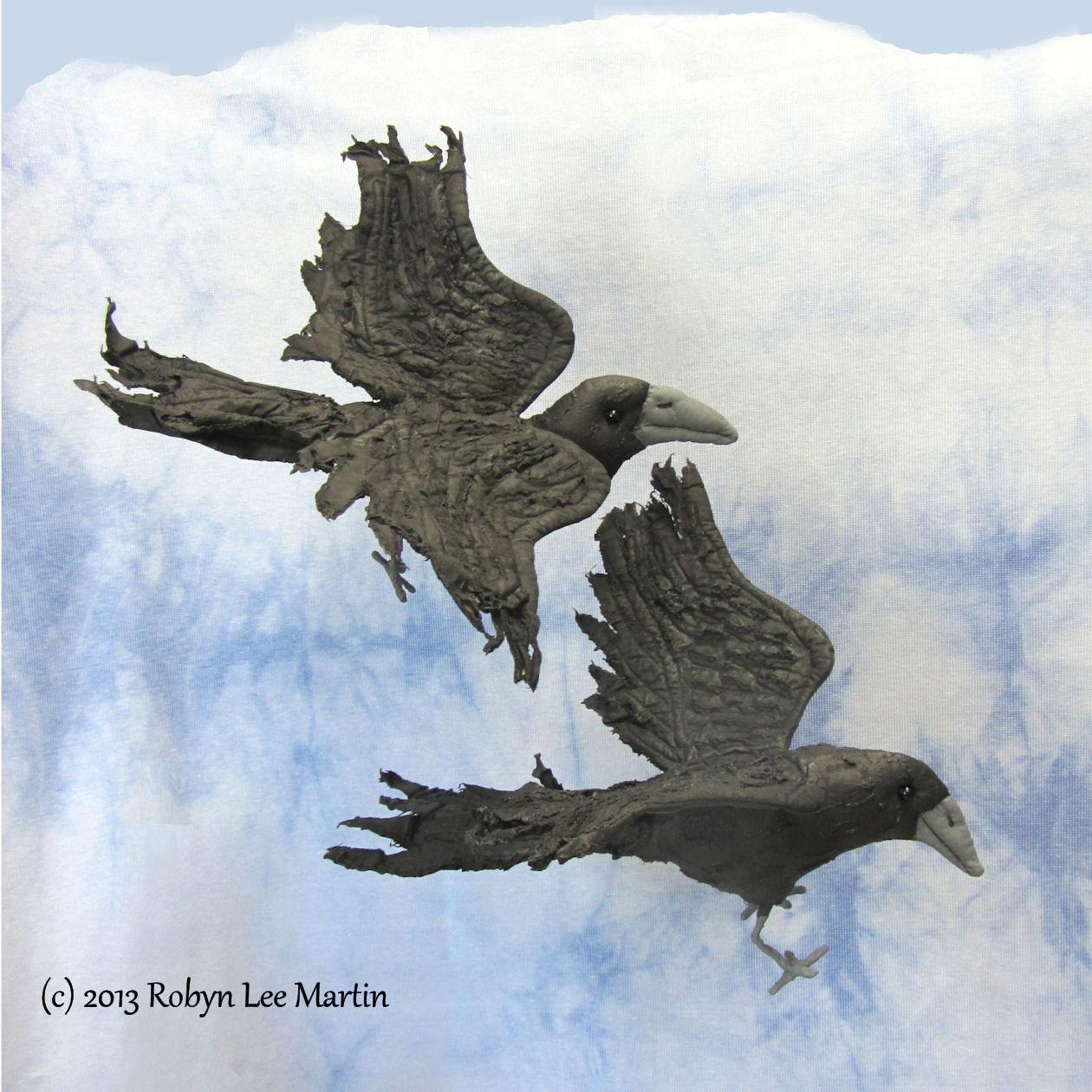 Download PDF Sewing Pattern Raven. Crow Bird Crow Doll Soft