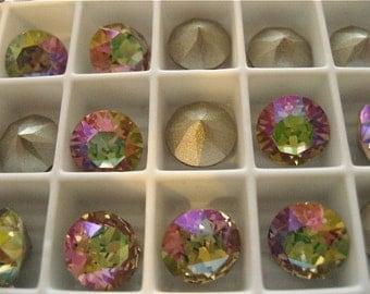 12 Purple Haze Swarovski Crystal Chaton  Stone 1088 39ss 8mm