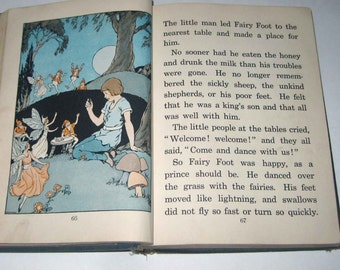 Make and Make-Believe Vintage 1930s Children's School Reader or Textbook by The Macmillan Co.