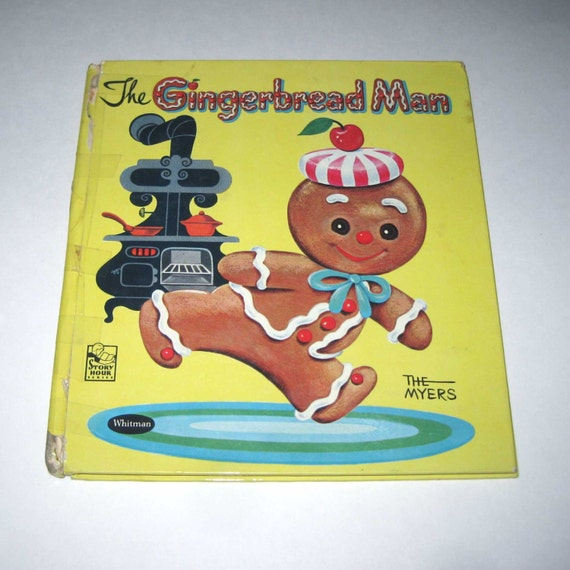 The Gingerbread Man Vintage 1950s Children's Story Hour
