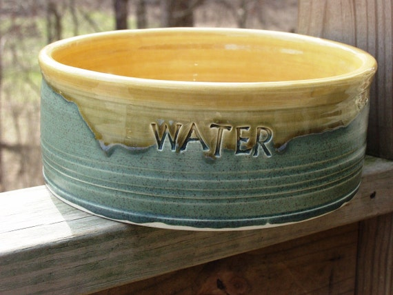 For Lauren Personalized Dog Food Water Dish Bowl Pet Made To