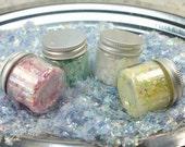 Four Jar Set - Iridescent Flitter Flakes - 311-4342