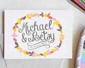 Wedding Logo, custom logo, save the date, custom monogram, personalized wedding, wedding stationery, DIY wedding, script font, digital file
