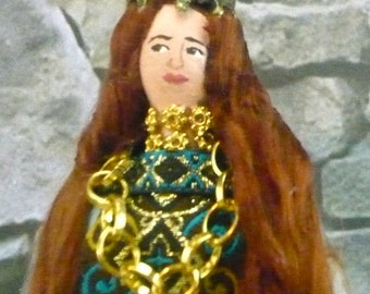 Cordelia of King Lear Shakespeare Doll Miniature Art Collectible