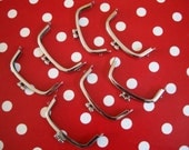 Japanese handmade metal purse frame-mini curved