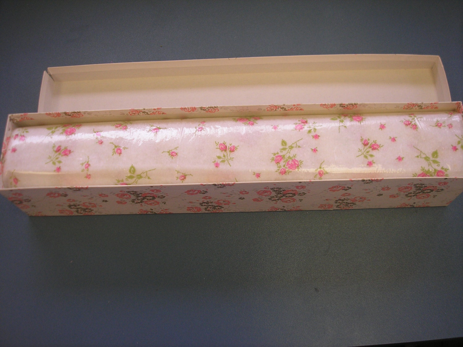 Vintage Scented Flowered Drawer Liner Mint In Box By