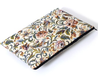 SALE! MacBook 15 Pro Case Laptop Sleeve Padded Cover, Garden Birds Fabric Bag