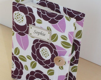 MID-JANUARY DELIVERY personalized photo album brag book mothers day gift multiple fabric options