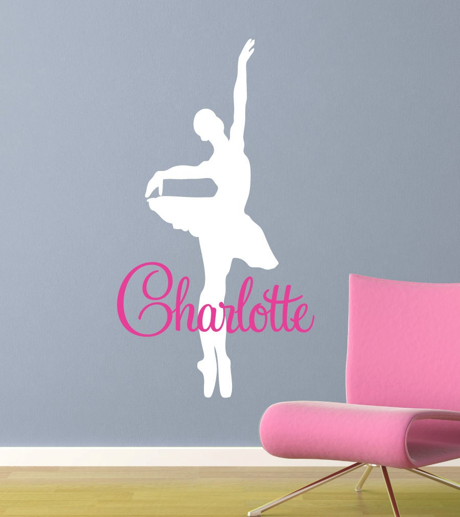 Etsy dance wall decals color the walls of your house etsy dance wall decals ballerina dancer wall decal vinyl dancer wall art sticker amipublicfo Gallery