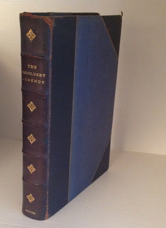 1921 The Ingoldsby Legends or Mirth and Marvels Gilded Leather Richard Harris Barham