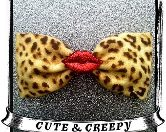 Our Lips Are Sealed Hair Clip