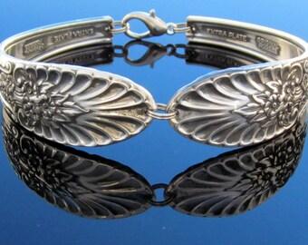 Spoon Bracelet Riveria Revisited Silver 1954 Vintage