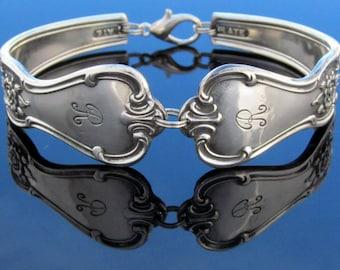 Spoon Bracelet Multiple Sizes Signature With R Monogram Silver