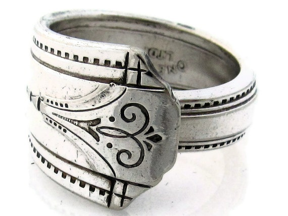 Art Deco Spoon Ring Size 8 The Mighty Thor