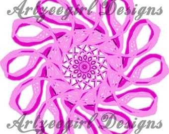 Breast Cancer Awareness, Mandala