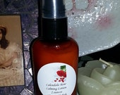 Calendula and Rose Calming Lotion Vegan Friendly for Red and Mature Skin-CLEARANCE
