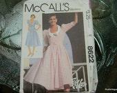 Vintage McCalls Dress Pattern N8622 Uncut Size 8