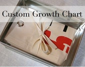 Growth Chart, Choose your own Custom Colors, Free Personalization