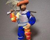 Landsknecht -  ooak 12th scale dollhouse figure by CWPoppets