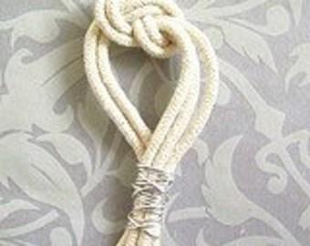 Nautical 8 Knot Wedding Boutonniere