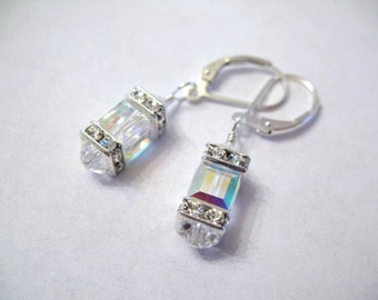 Crystal AB Sophistication Earrings