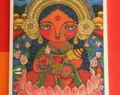 Maa Lakshmi (Goddess of wealth) I MINI print