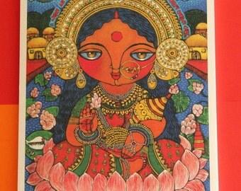 Maa Lakshmi (Goddess of wealth) I MINI print