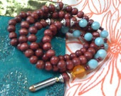 Gayatri -Ray of Sunlight on Heart-Mind 108 bead Yogic mala