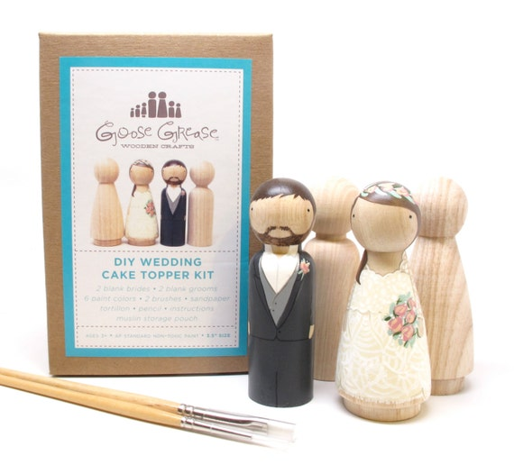 Cake topper wedding cake topper wooden cake topper kit extra like this item solutioingenieria Image collections