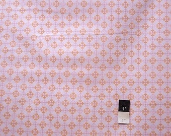 Annette Tatum AT60 Bohemian Checkers Pink Cotton Fabric 1 Yard