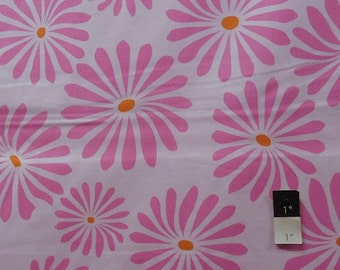 Annette Tatum AT58 Bohemian Bloom Pink Cotton Fabric 1 Yard