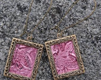 Oriental Butterfly Earrings