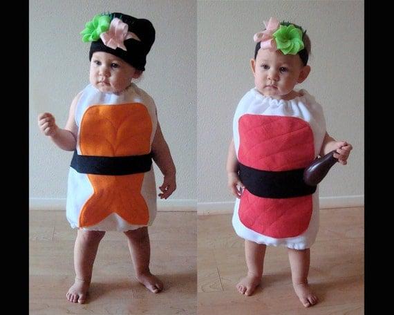 Baby Halloween Costume Sushi