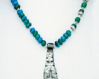 Tibetan Key and Nepalese Beads