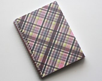 Large Coupon Organizer with 14 Pockets - Pre Printed Labels Included - Sparkly Plum Plaid
