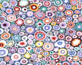 Kaffe Fassett PAPERWEIGHT Pastel GP20 Cotton Quilt Fabric - by the Yard - Gray Grey Pastels