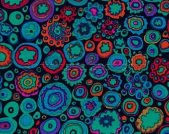 Kaffe Fassett PAPERWEIGHT Jewel GP20 Cotton Quilt Fabric - by the Yard - Jade Green Black