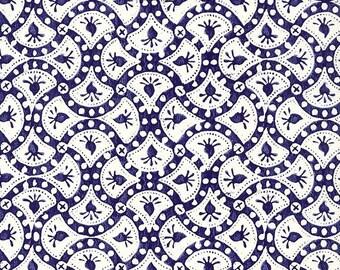 Made In Italy Authentic Florentine Paper Blue Design Tassotti  T572