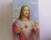 Sacred Heart of Jesus Holy Card PIF With Free Shipping
