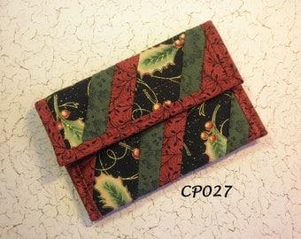 Quilted Coin Purse (CP027)