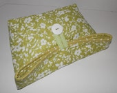 Foldover Bag/Celery Green
