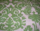 Wavery Harmonics Essence Leaf Green Home Decor Fabric