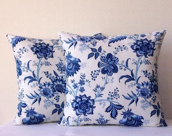 popular items for blue sofa pillow on etsy